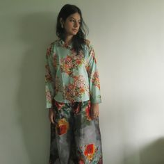 Pajamas made From  D12 Fabric Pattern
