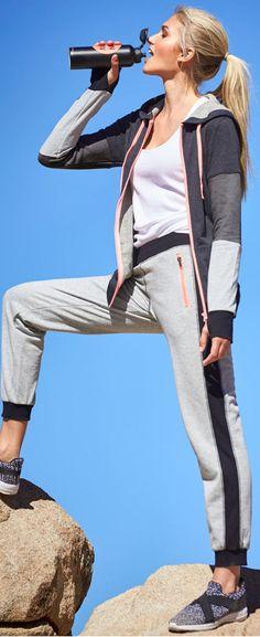 Diese Sweathose eignet sich prima zum Entspannen in der Freizeit oder für einen Aktiv-Tag für das Wohlbefinden.