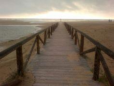 Playa de los Bateles, Conil...
