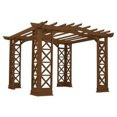 You should see this Arched Roof Pergola in Tugboat on Daily Sales!