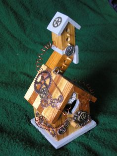 Geared For Home Steampunk Birdhouse
