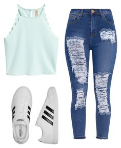 """""""Untitled #173"""" by brodriguez8104 on Polyvore featuring adidas"""
