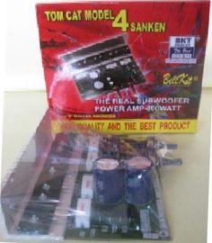 Jual beli GSX 179 Amplifier Mono Subwoofer TOMCAT Model 4 Sanken di Lapak Mbish Bangun Indonesia - mbish_elektronik. Menjual Speaker - GSX 179 Amplifier Mono Subwoofer TOMCAT Model 4 Sanken terlampir skema / Denah untuk Soundsystem 2.1 CH  > Penggemar Audio High End , KIT ini cocok untuk di coba karena KIT mono ini sudah built in Filter Subwoofer yang menjadi kan frequency Suara bisa turun sampai dengan 40Hz -200 Hz [ Very Low ] membuat bass nya sangat terasa . > Kit cocok dengan S...
