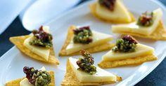 Hurtig og nem snack - egner sig godt til ostebordet eller som velkomstanretning.