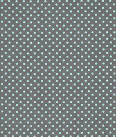 Shop Michael Miller Dumb Dot Gray Fabric at onlinefabricstore.net for $9.2/ Yard. Best Price & Service.