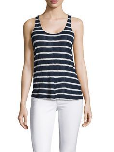 Huntington Stripe Racerback Top by Splendid at Gilt