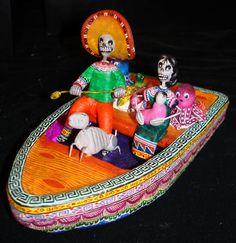 San Angel Folk Artists: Castillo  Isn't this delightful?
