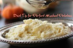No Lump Mashed Potatoes for a Perfect Thanksgiving Dinner