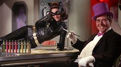 Lee Meriwether. Julie Newmar was unable to play Catwoman in the 1966 big-screen version of the Batman TV show due to other commitments, so Lee Meriwether slipped into the skin-tight catsuit to claw at the caped crusaders alongside such supervillains as The Joker, Riddler and Penguin. While her performance was perfunctory, and her Russian alter-ego Miss Kitka seemed like a sexed-up Rosa Klebb, her sex appeal as Catwoman in a stolen submarine was all wet.