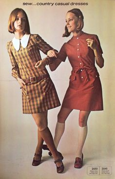 A page from a 1969 McCall's pattern catalog. #mccalls #vintagepatterns #sixtiesfashion