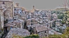 Magical Sorano in Maremma Tuscany Italy