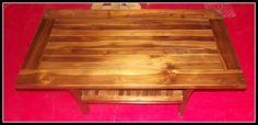 TAVOLO DA FUMO In TEAK Massello! Completamente Realizzato a Mano. importata direttamente!!! INDONESIA E' UN'OGGETTO UNICO ED IRRIPETIBILE!!misure: Alto: 50 cm 120x60 cm Le piccole inperfezioni che si possono riscontrare. sono a testimonianza di un'oggetto artigianale! N.b Si Preferisce il ritiro in loco, se spedito, verrà creata una casetta di legno apposita per la sicurezza del tavolo