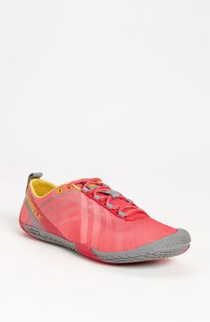 Merrell 'Vapor Glove' Running Shoe (Women) | Nordstrom. Minimal shoes are the way to go! Less injuries, more natural! I have these and will never use anything thicker than 5.5mm again!