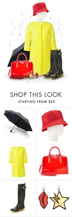 """April Showers"" by joy2thahworld ❤ liked on Polyvore featuring Saks Fifth Avenue Collection, John Lewis, P.A.R.O.S.H., Tory Burch, Joules and STELLA McCARTNEY"