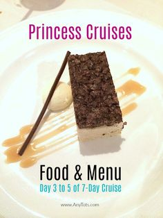 Princess Cruises Food and Menu: Day 3 to 5 of 7 during Sit-Down Dinner at the Dining Room. See Food Pictures and Menu Pictures. Packing List For Cruise, Cruise Tips, Cruise Travel, Cruise Vacation, Vacation Trips, Cruise Excursions, Cruise Destinations, Princess Cruises, Food Menu
