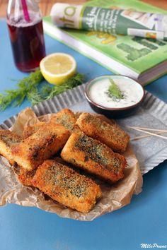 mlle prune: Vegan fish sticks ! (au tofu)