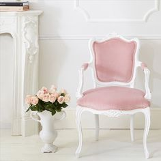 You deserve a serene calm spot - grab a cuppa and gather your thoughts. We think our dreamy Duchess chair makes for a perfect retreat. #frenchbedroomcompany #thinkpink #pink #pretty #shabbychic #frenchstyle #frenchdecor #makeyousmilestyle #coloursplash #prettyinpink