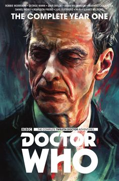 The Complete Twelfth Doctor Adventures (Year One) cover by @alicexz has been revealed!