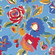 Fabric design by textile design duo Collier Campbell