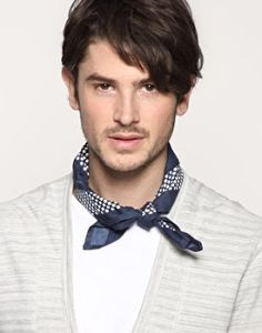 Men's Fashion and Style Aficionado: Men's Neckerchiefs; Bandana Styles, Scarf Styles, Bandanas, Mens Scarf Fashion, Men Scarf, Fashion Men, How To Wear Bandana, Latest Mens Wear, Neckerchiefs
