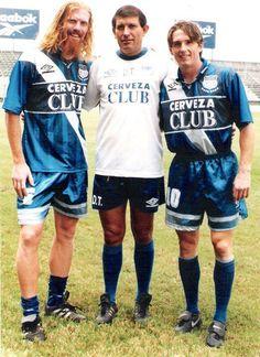Alexis Lalas, Carlos Sevilla y Joe Max Moore