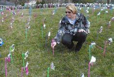 Pinwheels by York Hospital raise child abuse awareness - York Dispatch