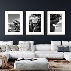 Black Photo Frames, Black And White Photo Wall, International Paper Sizes, Printable Art, Wall Art Decor, Photo Wall Art, Digital Prints, Sculptures, Gallery Wall