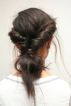 11 Runway Hairstyles Perfect for Your Wedding via Brit Co