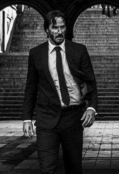 Keanu Reeves as John Wick in John Wick Chapter 2.