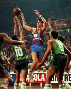 FCB vs Joventut Badalona, 83/84. J.A. San Epifanio.