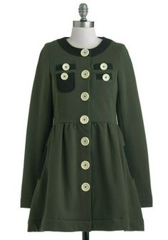 A Thrill in the Air Coat, #ModCloth Love This