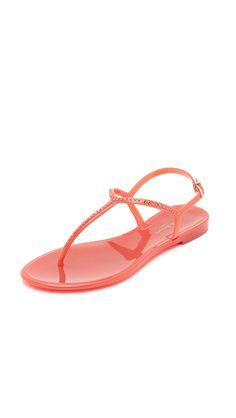 cdc4cacf0949 L.K. Bennett Women s Lola Thong Jelly Sandals     Trust me