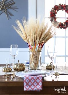 inspired by charm Six Ideas for Stylish Fall Decor http://inspiredbycharm.com/2016/09/six-ideas-for-stylish-fall-decor.html via bHome https://bhome.us