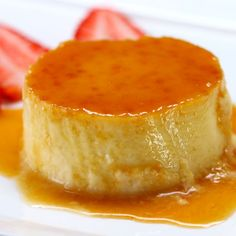 This Passion Fruit Flan recipe really couldn't be easier, it's a simple mix and cook tart that is seriously delicious. Passion Fruit Flan Recipe, Passion Fruit Juice, Passion Fruit Mousse, Passionfruit Recipes, Halo Halo, Sweet Tooth, Dessert Recipes, Egg Desserts, Sweet Treats