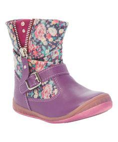 Look what I found on #zulily! Purple Dallas Boot #zulilyfinds