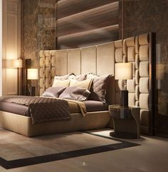 Gorgeous Luxury King Bed Design For Luxurious Bedroom Ideas Latest Bedroom Design, Luxury Bedroom Design, Master Bedroom Interior, Bedroom Furniture Design, Master Bedroom Design, Home Interior, Luxury Furniture, Bedroom Decor, Interior Design