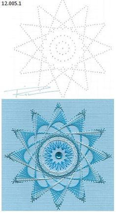 Latest Trend in Paper Embroidery - Craft & Patterns Embroidery Cards, Embroidery Patterns, Hand Embroidery, String Art Templates, String Art Patterns, Nail String Art, String Crafts, Card Patterns, Stitch Patterns