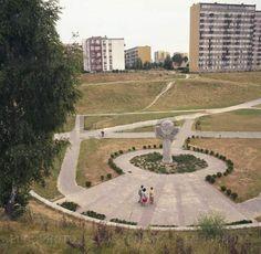 JUL 1987 r. Pomnik Pomordowanych Public Art, Baseball Field, Monuments, Polish, Retro, Vitreous Enamel, Baseball Park, Manicures, Rustic