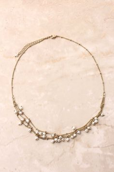 Dreamy Freshwater Pearl Necklace on Emma Stine Limited