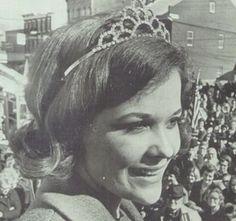 "Pam Collins, the 1969 FFA Sweetheart, in the ""Grantonian"" yearbook of Grant County High School in Dry Ridge, Kentucky.  #GrantCountyHighSchool #DryRidge #yearbook #Grantonian #1969"