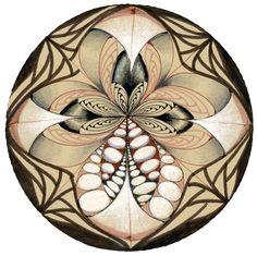 "Betweed Zendala #3: ""Orchid"""