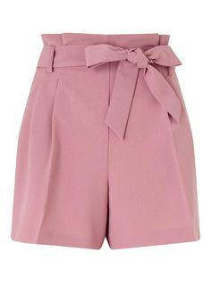Blush Paper Bag Shorts