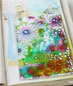 Masking Tape & Art Journaling via cynthiashaffer.typepad.com