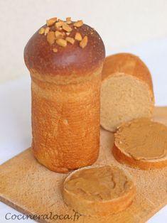 Pain au beurre de cacahuètes ©cocineraloca.fr