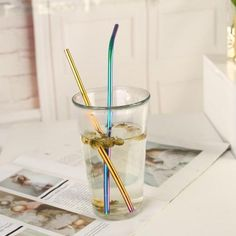 As of 2019, plastic straws are placed at 8th place in ocean trash cleanups. It's time to start sipping responsibly. Grab your steel straw and start making a difference now!