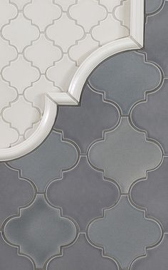 Focal point within neutral tiles