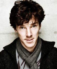 Benedict Cumberbatch, you gorgeous thing you. And the cheekbones.....
