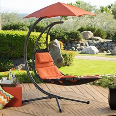 Vivere Original Dream Chair - So comfortable you'll wonder if you're dreaming, the Vivere Original Dream Chair turns your yard into the ultimate lounging experience. With a powder-...