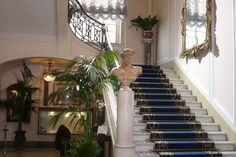 Lobby, Excelsior Hotel, Naples Excelsior Hotel, Naples, Hotels And Resorts, Stairs, Home Decor, Stairway, Decoration Home, Room Decor, Staircases