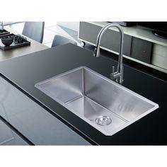 Stufurhome NationalWare Undermount 30 in. Single Bowl Kitchen Sink in